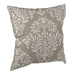 Gray Heather Pillow