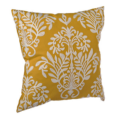 Yellow Heather Pillow