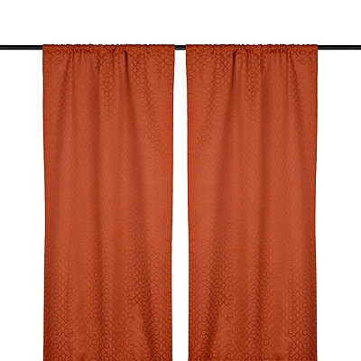 Spice Rutland Curtain Panel Set, 84 in.