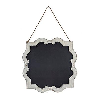 White Isabelline Chalkboard Hanger