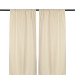 Taupe Rutland Curtain Panel Set, 96 in.