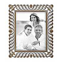 Scrolled Natural Charm Wooden Picture Frame, 11x14