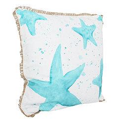 Samaria Starfish Splatter Printed Pillow