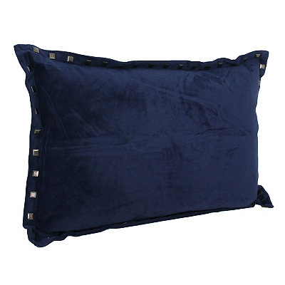 Navy Blue Payton Accent Pillow