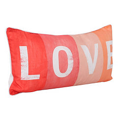 Love Sign Printed Pillow