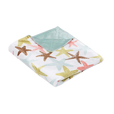 Atlantis Starfish Microplush Throw Blanket