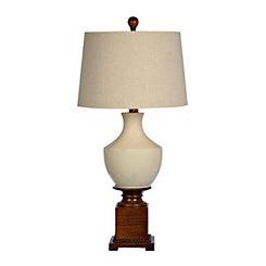 Cream Ceramic Mix Table Lamp