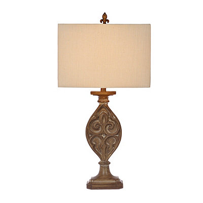 Kerala Medallion Table Lamp