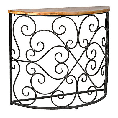 Julia Half Round Console Table