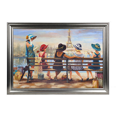 Ladies Day Out Framed Art Print