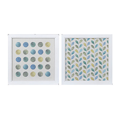 Patterned Greenhouse Framed Art Prints