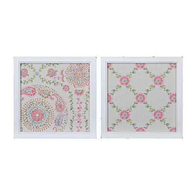 Floral Pattern Framed Art Prints