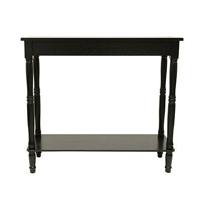 Black Simplicity Console Table