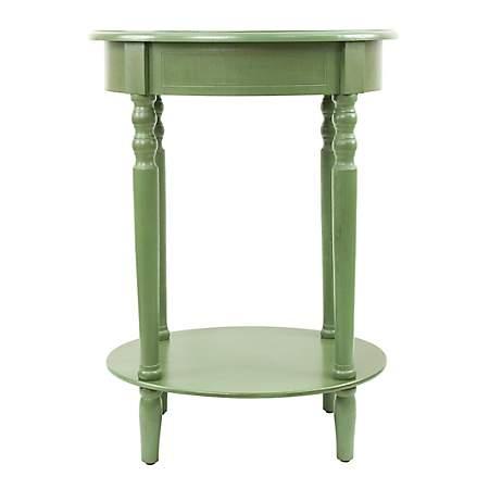 Basil Simplicity Oval Side Table Kirklands