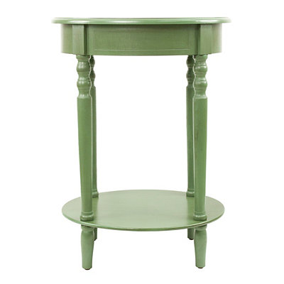 Basil Simplicity Oval Side Table