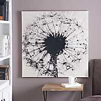 Dandelion Canvas Art Print