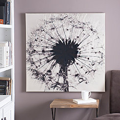 Dandelion Canvas Art Print