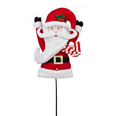 Fabric Santa Pick