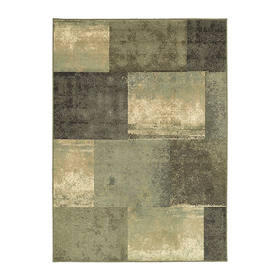 Bailey Squares Area Rug, 5x8
