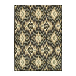 Ikat Bailey Area Rug, 5x8