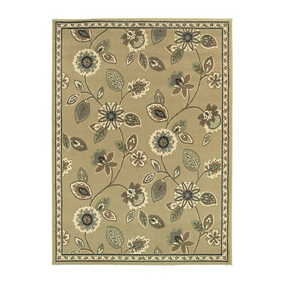 Floral Bailey Area Rug, 7x9