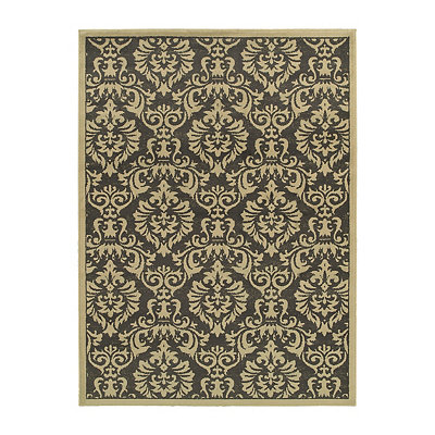 Damask Bailey Area Rug, 7x9