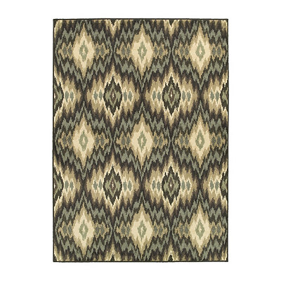 Ikat Bailey Area Rug, 7x9