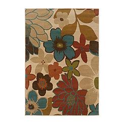 Floral Brayson Area Rug, 5x8