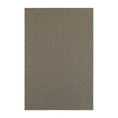 Gray Diamond Finn Area Rug, 5x8