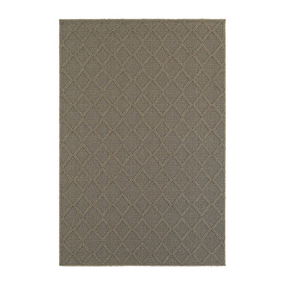 Gray Diamond Finn Area Rug, 7x10