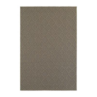 Gray Diamond Finn Area Rug, 7x10