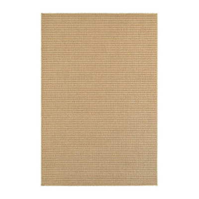 Tan Rows Finn Area Rug, 7x10