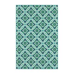 Floral Trellis Jenn Area Rug, 5x8