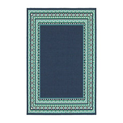 Crown Border Jenn Outdoor Rug, 5x8