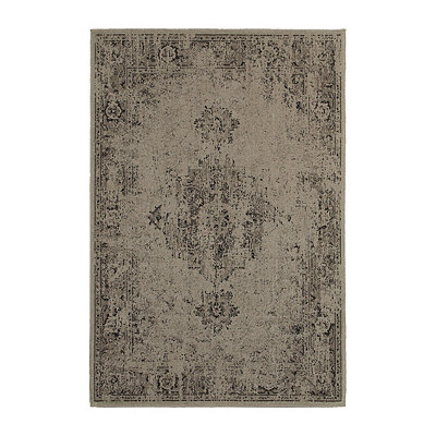Gray Persian Mallory Area Rug, 5x8