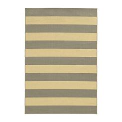 Gray Stripes Salina Area Rug, 5x8