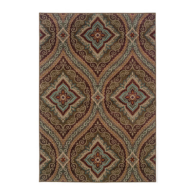 Chocolate Henna Skylar Area Rug, 5x8