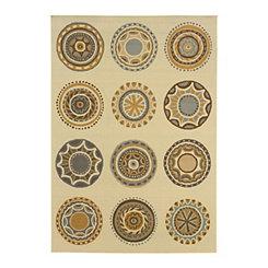 Exotic Medallions Veranda Area Rug, 5x8