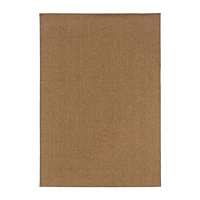 Dark Tan Vista Area Rug, 7x10