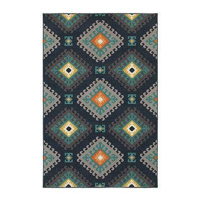 Diamond Hook Walker Area Rug, 5x8