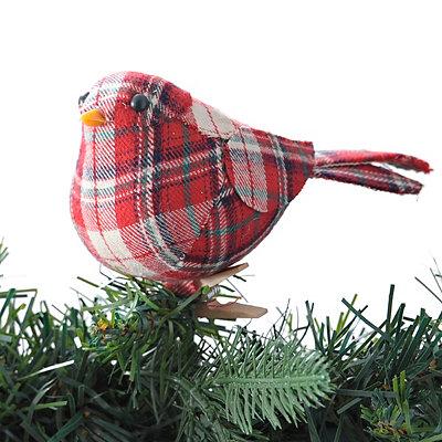 Clipped Plaid Bird