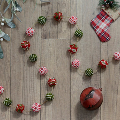 Christmas Sweater Ball Garland