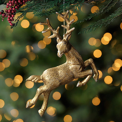 Leaping Deer Ornament