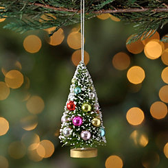 Decorative Frosted Tree Ornament