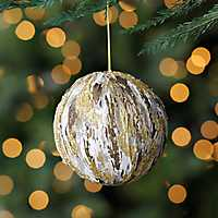 Gold Bark Ornament