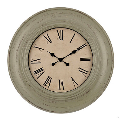 Rustic Sage Amanda Clock