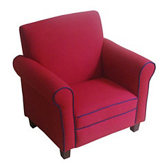 Red Kids Club Chair