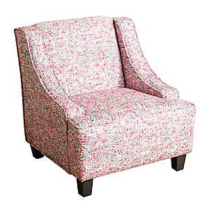 Pink Paisley Kids Swoop Chair