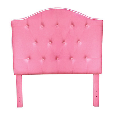Pink Tufted Kids Twin Headboard