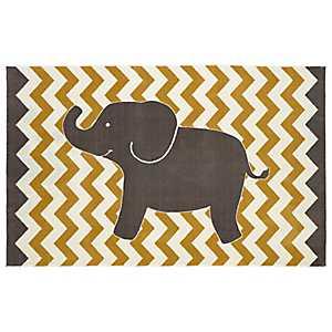 Little Elephant Area Rug, 5x8